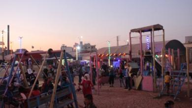 Photo of معرض من صور الأطفال في مدينة أعزاز في اليوم الأول من عيد الأضحى المبارك